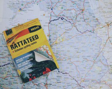 Baltian pyörämatka kartta