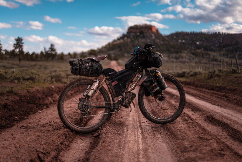 bikepacking laukut