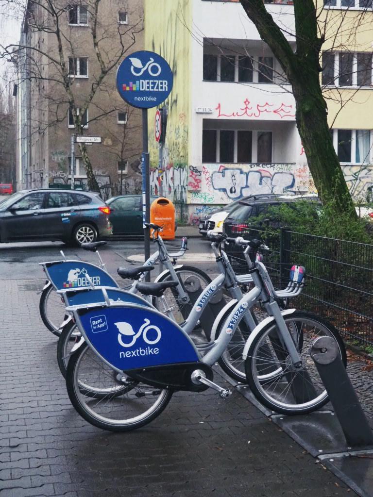 kaupunkipyörät Berliini nextbike