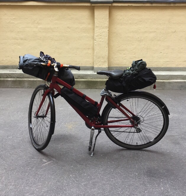 retkipyörä pyörämatkavarusteet bikepacking laukut