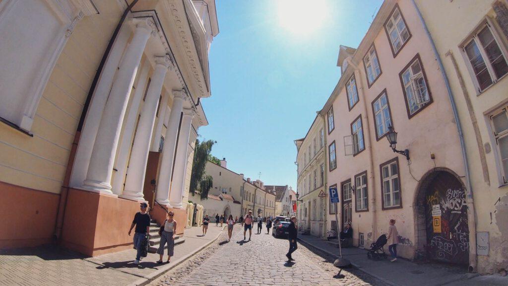 Tallinnan Vanhakaupunki katunäkymä