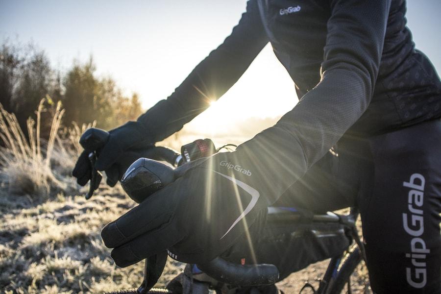 talvipyöräily käsineet
